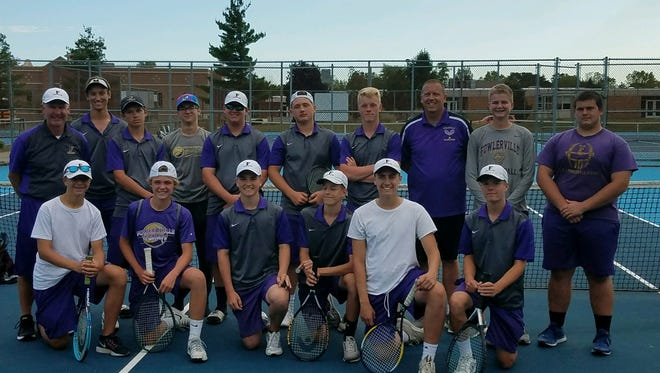The Fowlerville tennis team took fifth in a loaded Division 3 regional on Thursday.