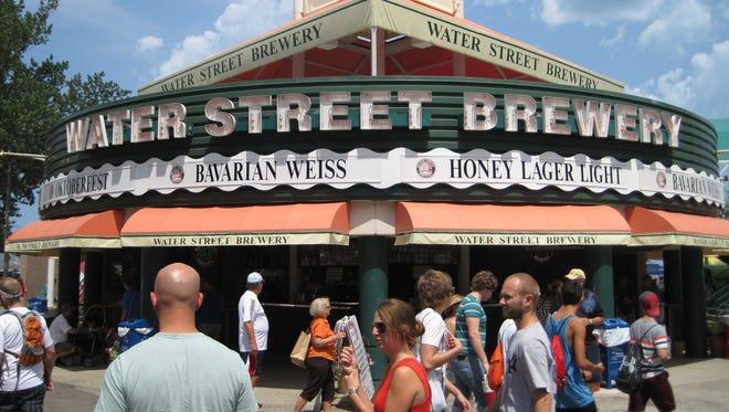 Water Street Brewery sells beers at Summerfest