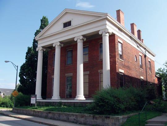 Helen C. Ellwanger founded the Landmark Society in