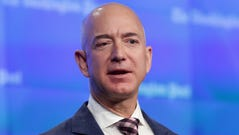 The net worth of Amazon.com founder Jeff Bezos continues