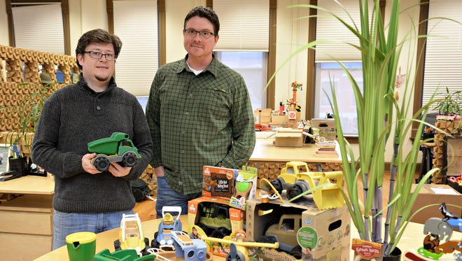 Chris Clemmer and David Bowen have bought Sprig Toys back from Wham-O, a toy giant that makes Frisbee and other well-known toys. Clemmer and Bowen launched BeginAgain Toys a year after the sale to Wham-O and landed a contract with John Deere.