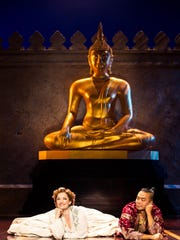 """Laura Michelle Kelly and Jose Llana in """"Rodgers & Hammerstein's 'The King and I'"""""""