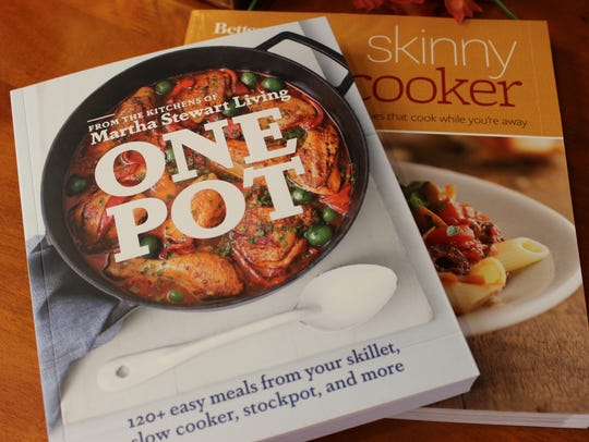 On a chilly day, slow cooking books fly off the shelves