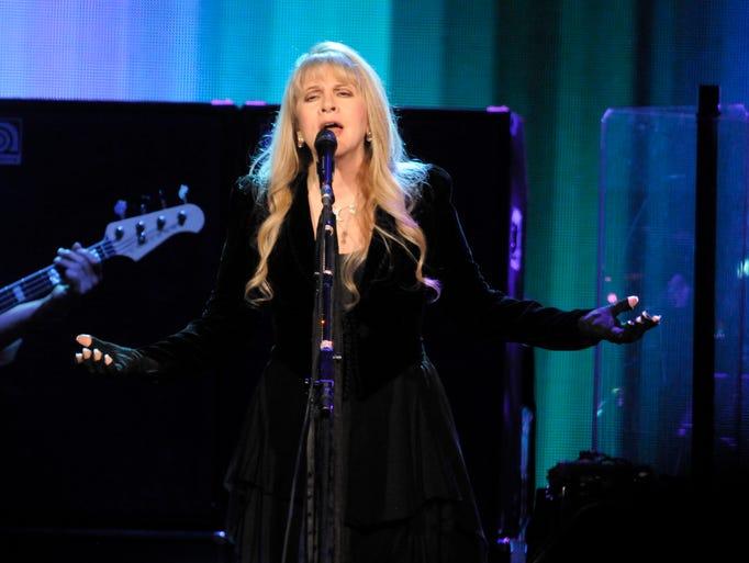 Stevie Nicks of Fleetwood Mac Wednesday, Oct. 22, 2014,
