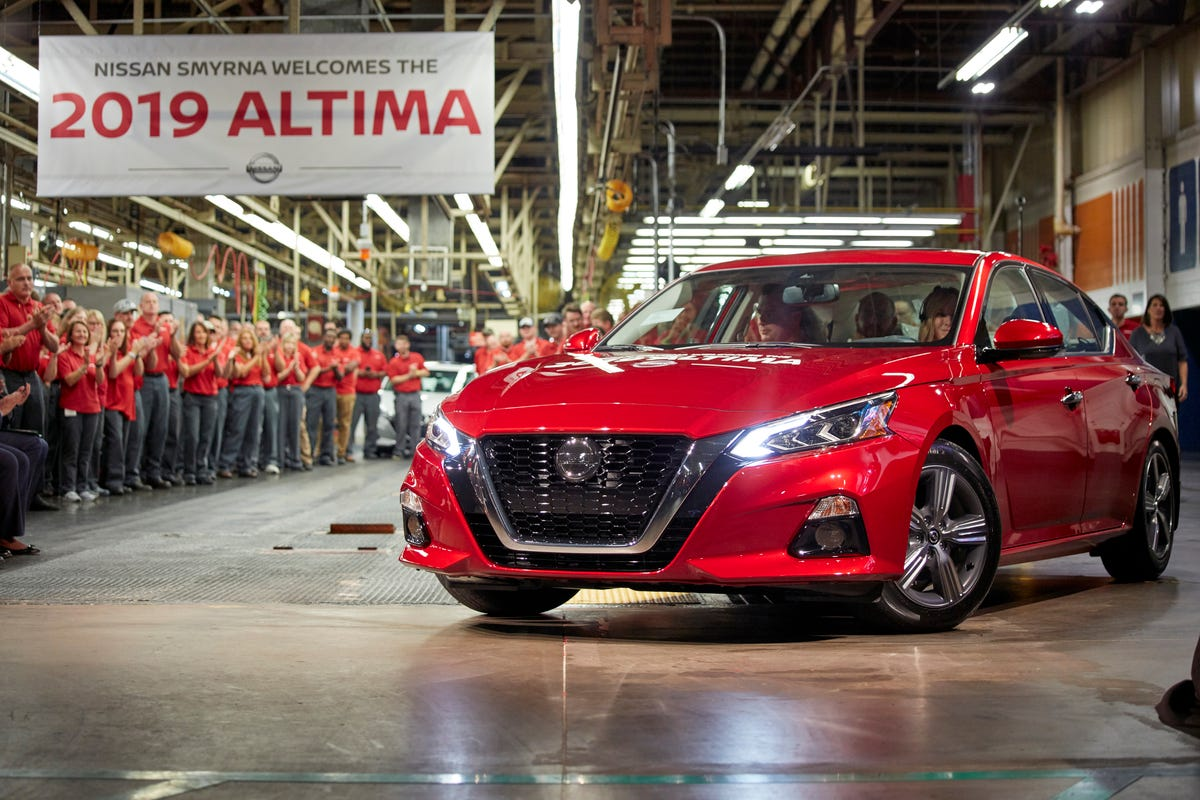 nissan spends $170m to upgrade smyrna, mississippi plants for 2019the first all new nissan altima rolled off the assembly