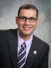 Javier Martinez, D-Albuquerque, represents District