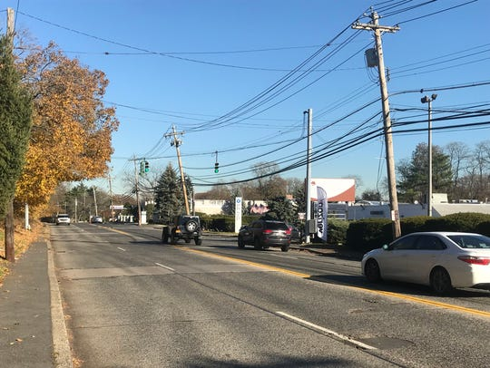 Quaker Ridge Road in New Rochelle is the city's major