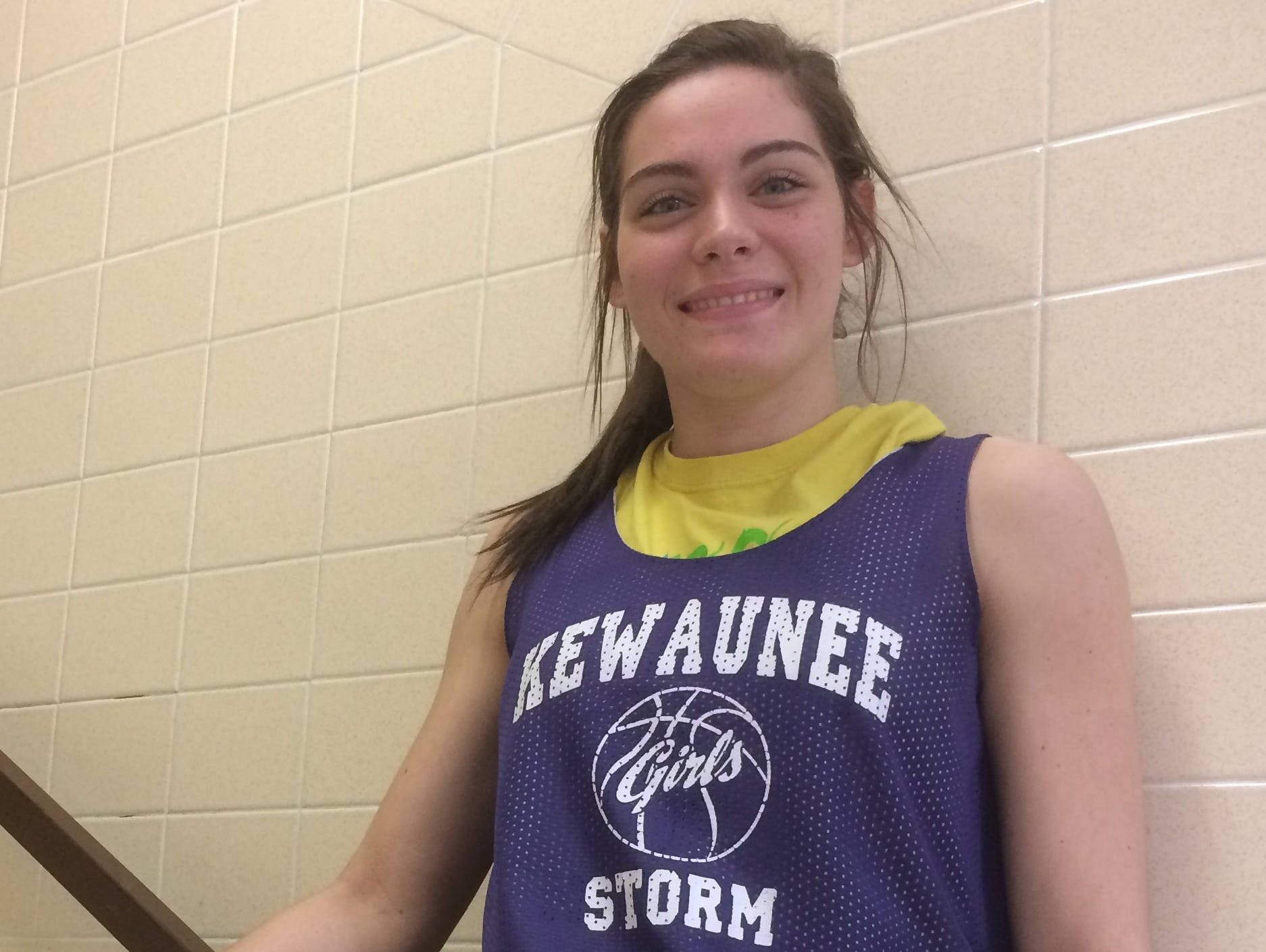 Kewaunee senior Brooke Geier is averaging 20.6 points, 7.4 rebounds, 2.9 assists and 3.9 steals per game this season. She holds her school's all-time scoring record in addition to breaking a single-season record for points scored.