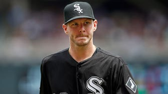 Chicago White Sox starting pitcher Chris Sale has a 3.11 ERA and 1.01 WHIP.
