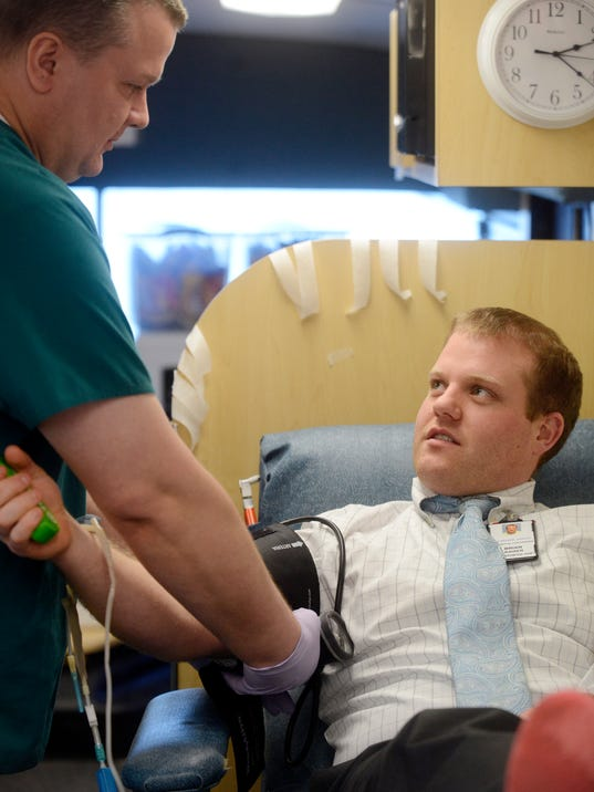 Friday blood drive to replenish supply before holiday