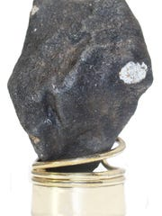 A 50-gram meteorite found on a frozen lake in Hamburg