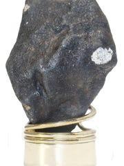 A 50-gram meteorite found on a frozen lake in Hamburg