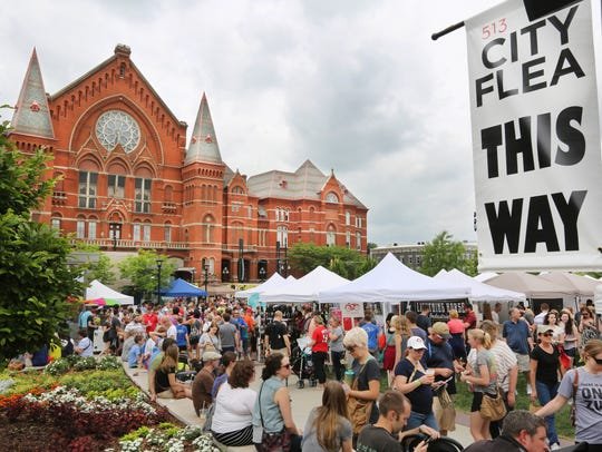 City Flea in Washington Park