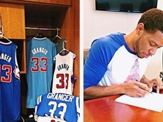Danny Granger signs wi...