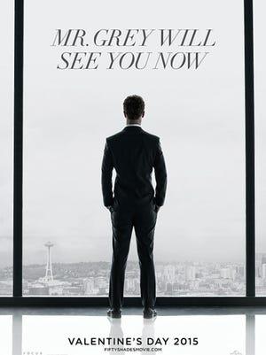 """50 Shades of Grey"" movie poster."