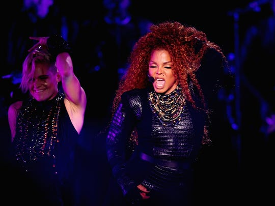 During her career, Janet Jackson has scored 10 No. 1 hits on Billboard's Hot 100 chart, tying her with Stevie Wonder for eighth on the list of all-time chart toppers.