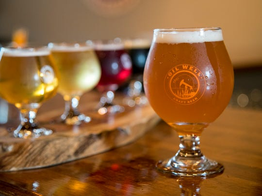 Oil Well Craft Beer features beers and ciders from local breweries.