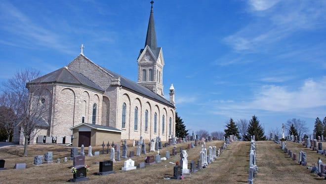St. John the Baptist Catholic Church at Johnsburg.