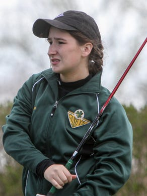 Nicole Totland and Red Bank Catholic won the NJSIAA Tournament of Champions team title at Forsgate on Thursday.