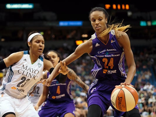 WNBA: Phoenix Mercury at Minnesota Lynx