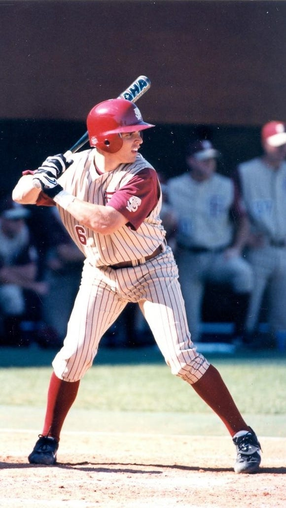 Kevin Cash helped FSU reach the 1999 World Series in Omaha, Neb.