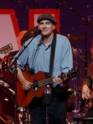 James Taylor performs at the TD Garden on  May 30, 2013 in Boston.
