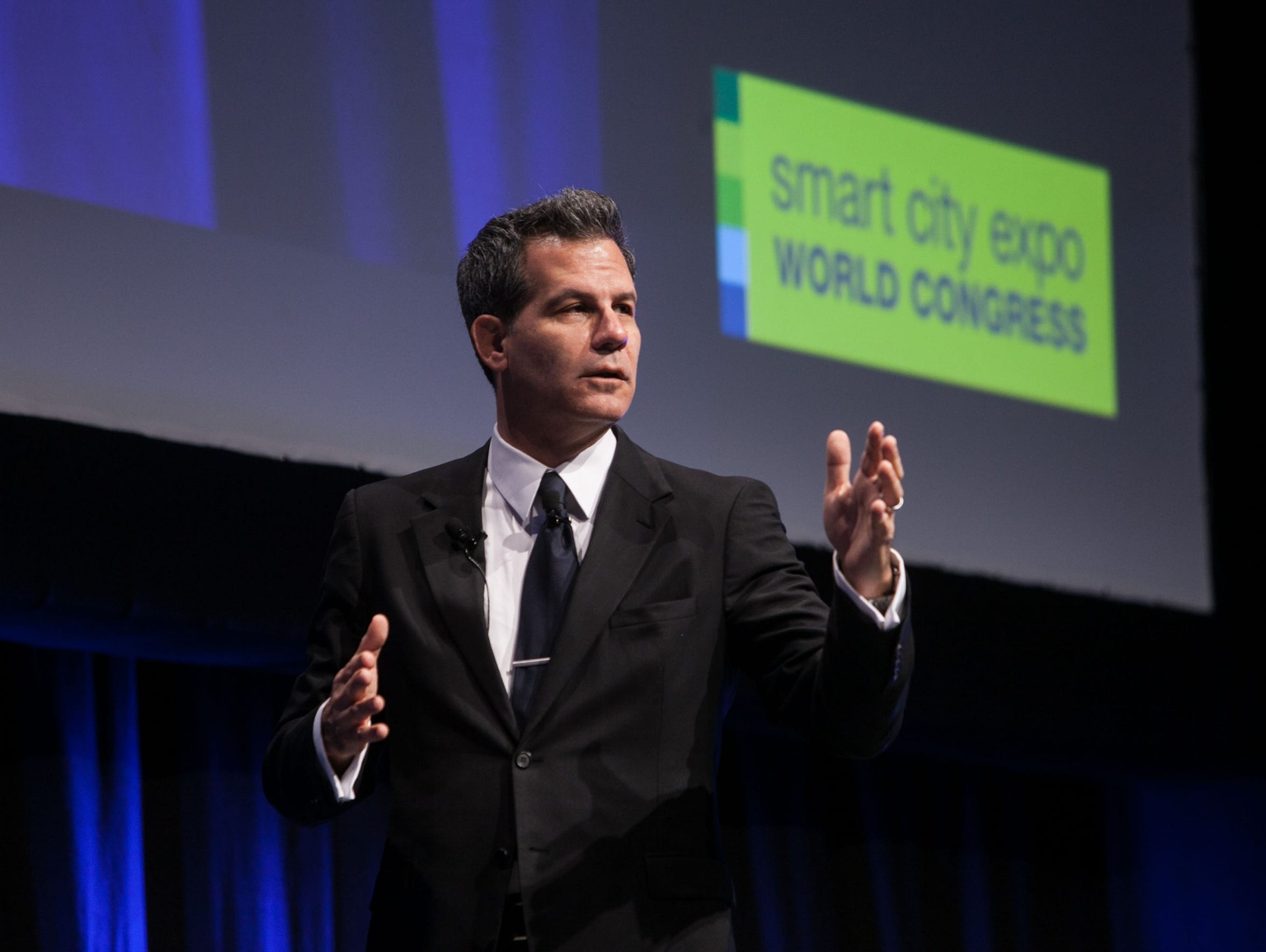 Author and academic Richard Florida at a recent Smart