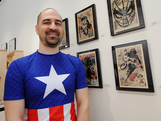 Joe Manzo, founder of Middletown's Galactic Con, will