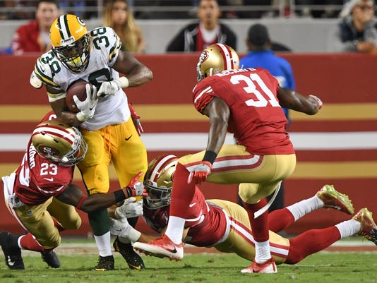 NFL: Preaseason-Green Bay Packers at San Francisco 49ers