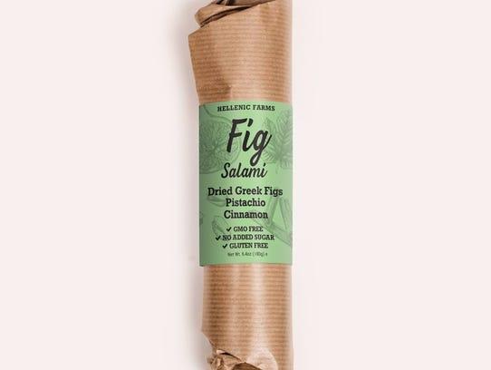 Vegan salami made with figs won a new product award
