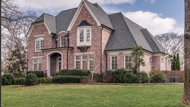 TV personality Elisabeth Hasselbeck and her husband Tim paid just over $2 million for this home on Nichol Lane in Belle Meade.