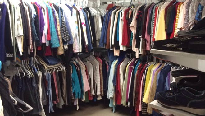 """Family Promise gives clients the opportunity to """"purchase"""" donated housing items, furnishing, decorations, clothing, linens and more using credit vouchers."""