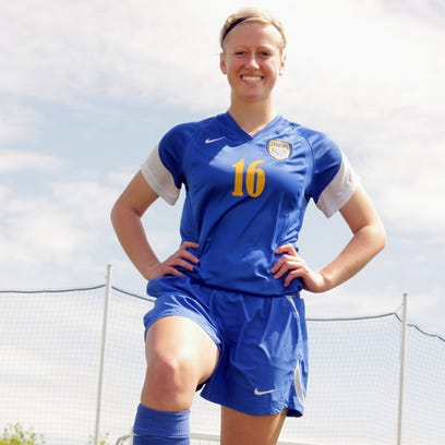 Howards Grove senior Morgan Edge has scored 21 goals this season for the Tigers and is looking to lead the squad on a long WIAA Tournament run.