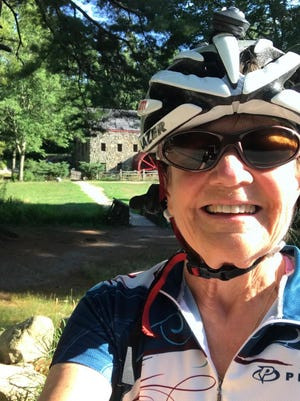 Patsy Coffin, of Sudbury, is participating in the Ride for Food to benefit Open Table in Maynard.