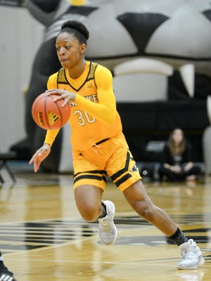 UW-Milwaukee guard Sierra Ford-Washington.