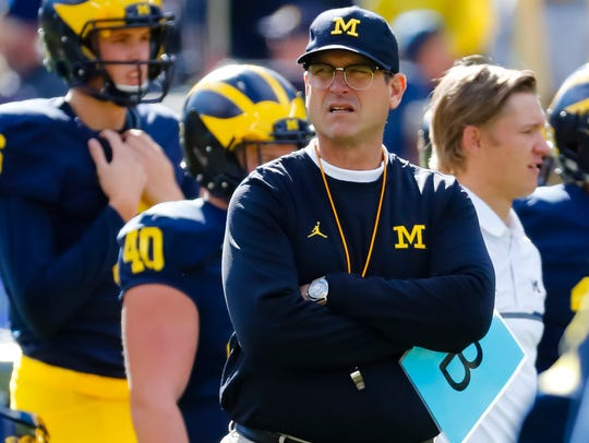 Coaches with the package and background of Jim Harbaugh