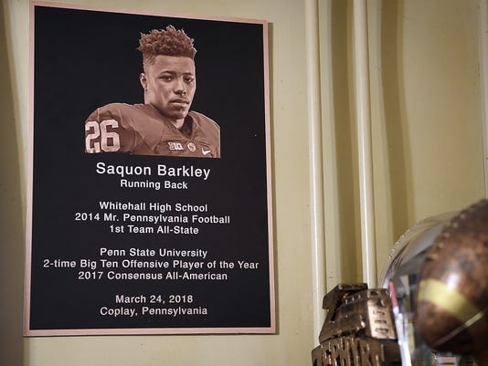 Saquon Barkley hometown