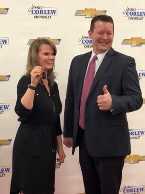 Norman Smith Elementary pre-kindergarten teacher Megan Koewler, was the winner of the a 2018 red Chevrolet Spark.
