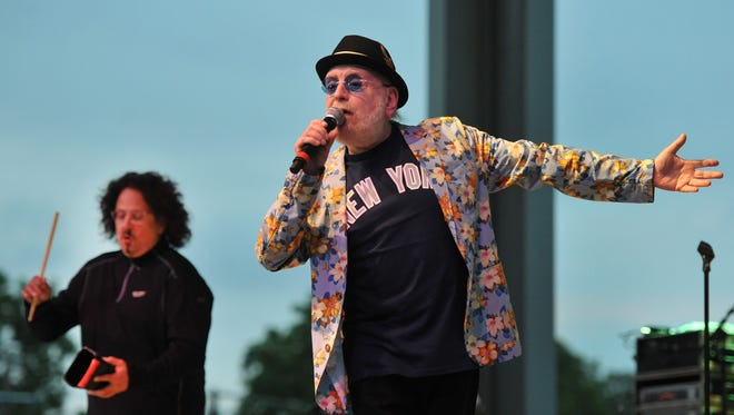 "Mark Volman, left, and Howard Kaylan, former members of the Turtles who perform as Flo & Eddie, will bring their ""Happy Together"" tour to the 2017 Indiana State Fair."