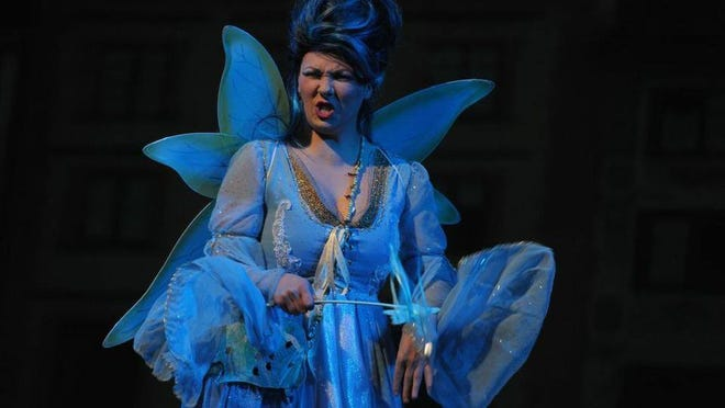 The Blue Fairy, played by Sammi Cohen
