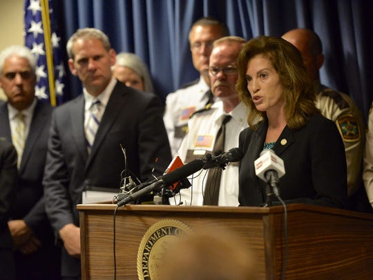 Stearns County Attorney Janelle Kendall explains that