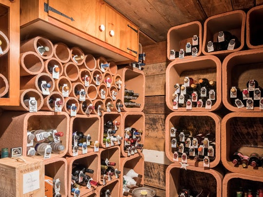 For wine lovers and collectors, the property also boasts