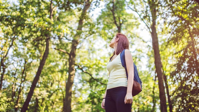 Immersing yourself in almost any natural environment has been shown to reduce stress, anxiety, and depression symptoms.