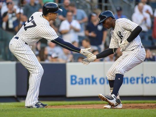 New York Yankees designated hitter Giancarlo Stanton