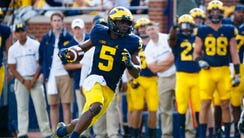 Michigan Wolverines linebacker Jabrill Peppers.