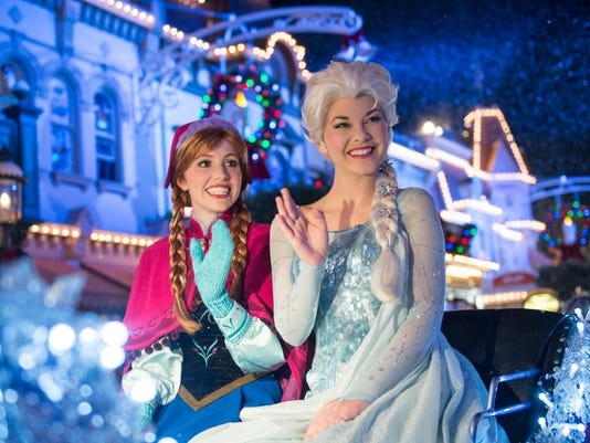 """""""Frozen"""" Fun Joins Mickey's Very Merry Christmas Party at Magic Kingdom"""