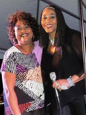 Joan Moore-Mobley and Gina Moore have been performing as the duo the Browne Sisters for three decades.