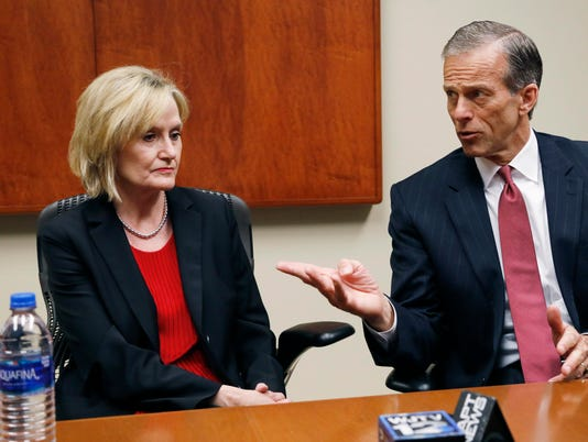 John Thune,Cindy Hyde-Smith