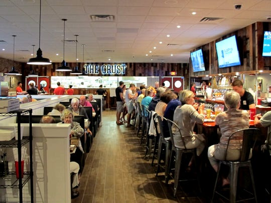 The Crust Pizza's second home is next to LongHorn Steakhouse near the southeast corner of U.S. 41 and Vanderbilt Beach Road in North Naples.