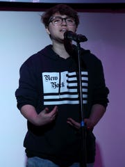 Gray Bulla, a junior at Nashville School of the Arts, is one of three finalists hoping to become the 2017 Nashville youth poet laureate.